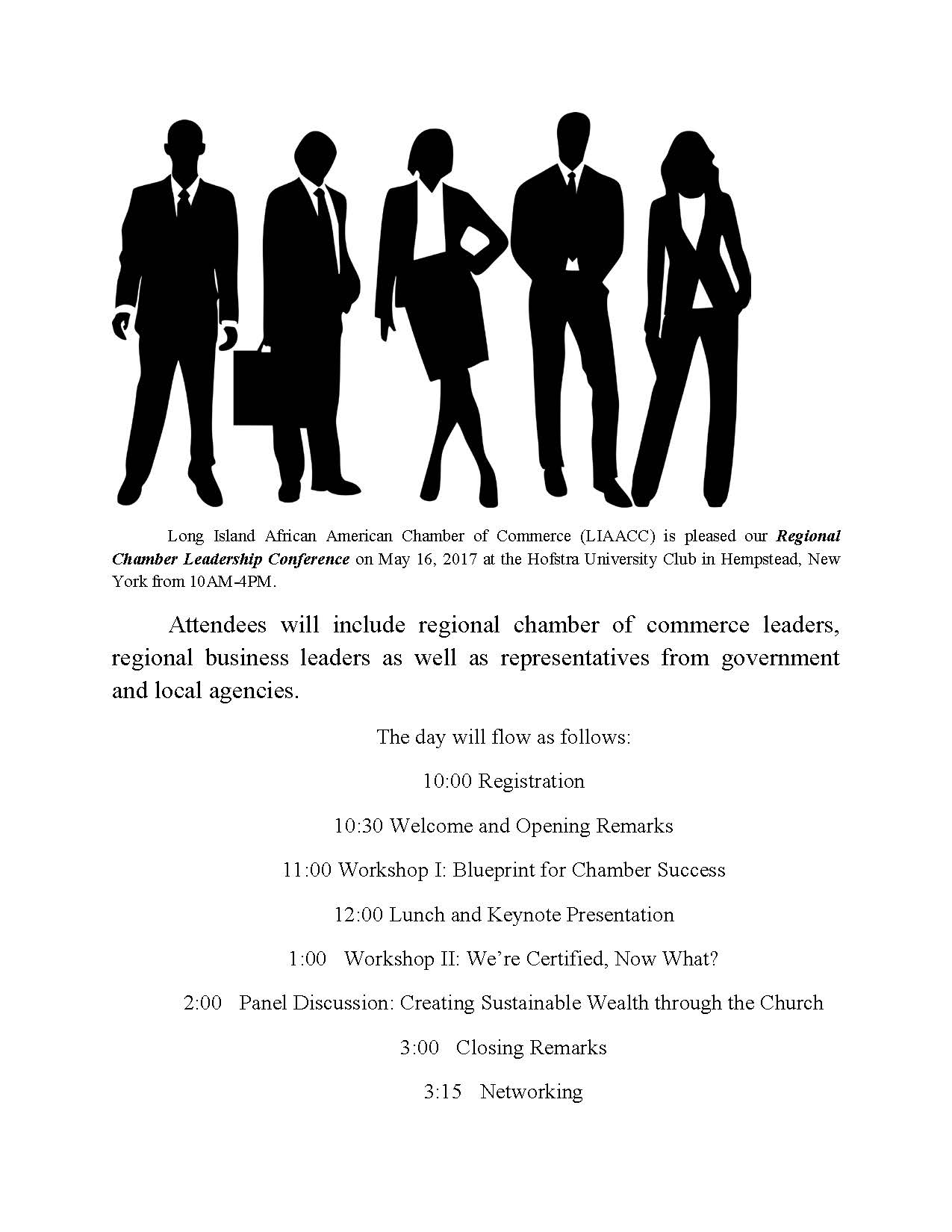 regional conference flyer