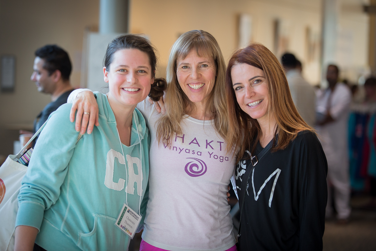 Lisa Black and Shakti Vinyasa Northwest Yoga Conference Community Partner