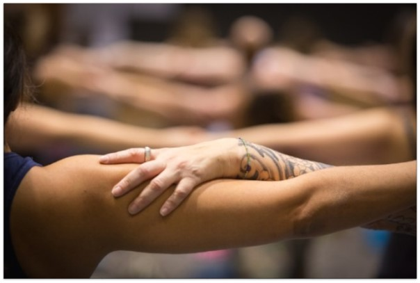 Community at the Northwest Yoga Conference
