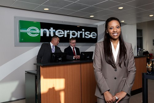 Enterprise Car Hire Aberdeen Airport