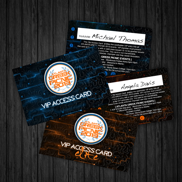 Atlanta Greek Picnic 2013 Vip Card
