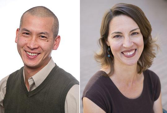 Ernest Mark and Rebecca Aced-Molina
