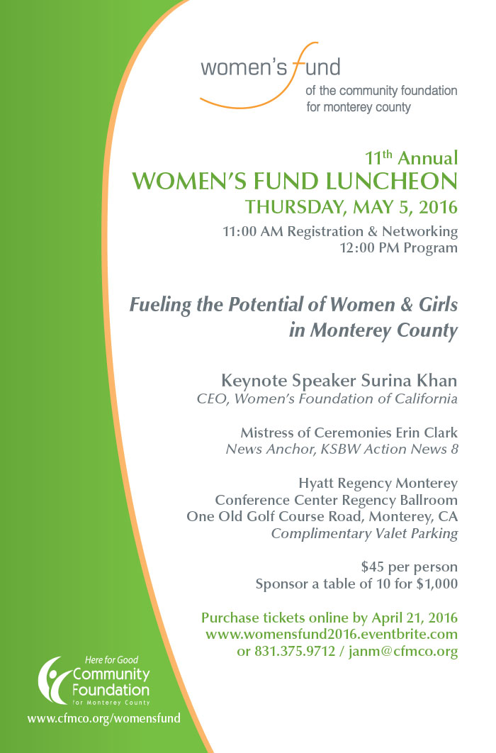 Women's Fund Invitation Front