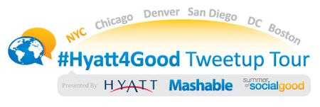 #Hyatt4Good Tweetup Tour NYC