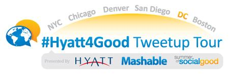 #Hyatt4Good Tweetup Tour DC