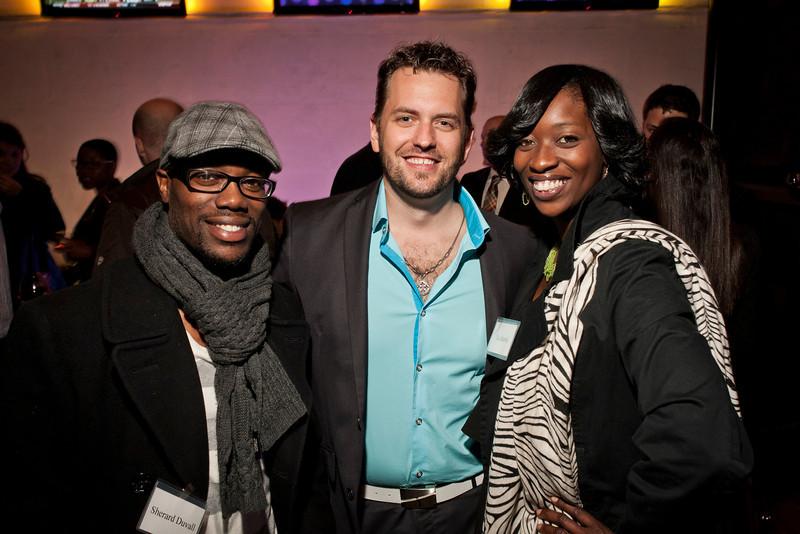 Sherard Duvall, Matt Hudson and friends at Ignite 2012