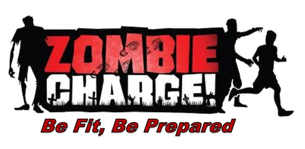 Zombie Charge Logo with Mission