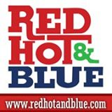 red hot & blue logo