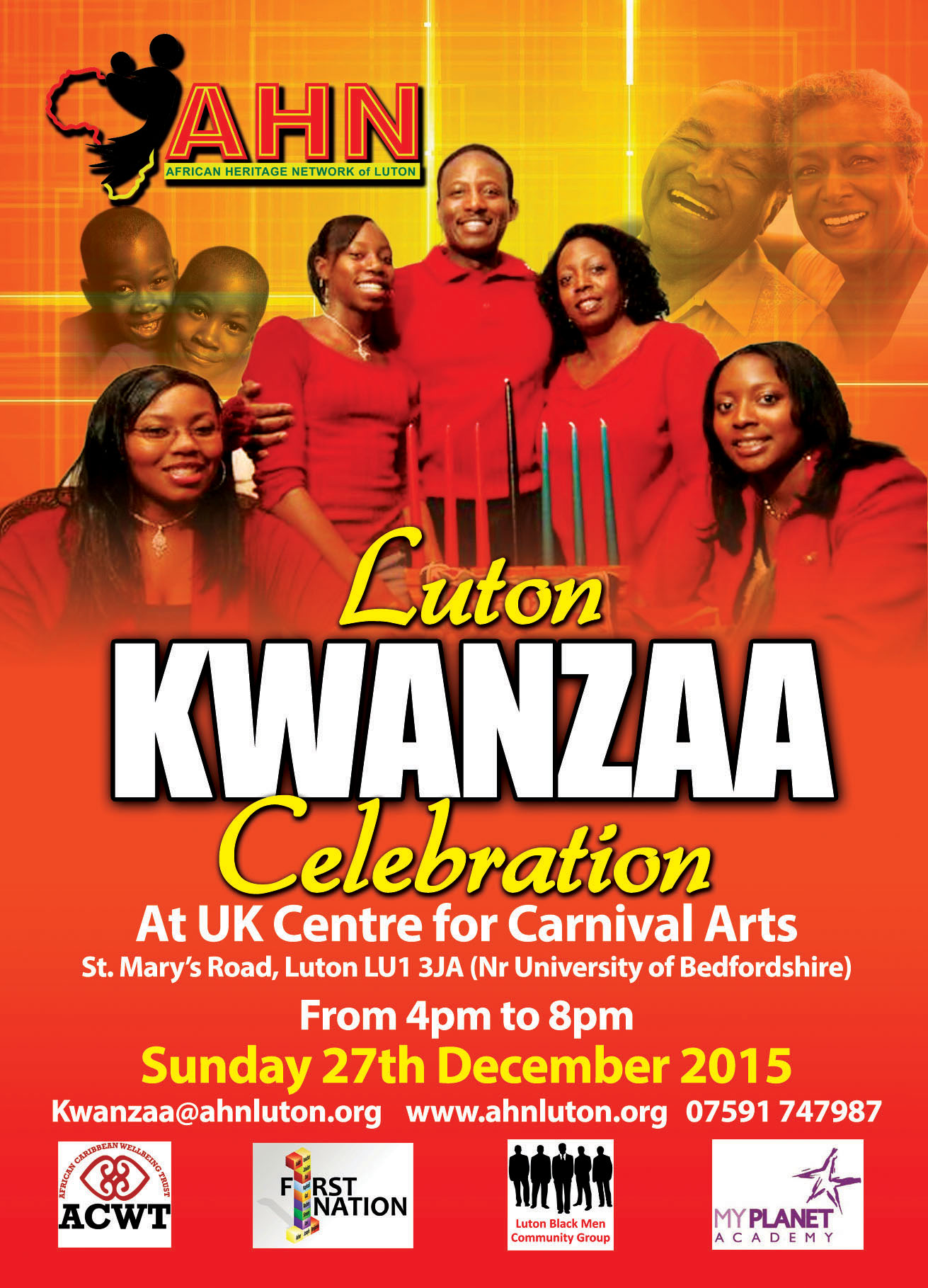 AHN Kwanzaa 27th Dec 2015