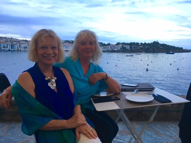 Susie & Karen in Cadaques May 2017