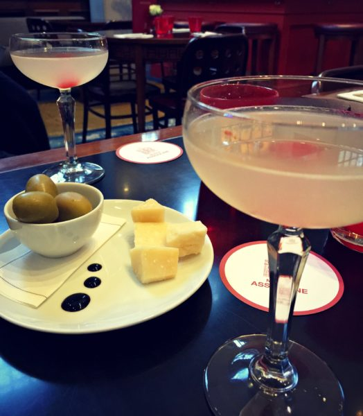 Hemingway Daiquiris & snacks at Maison Assouline