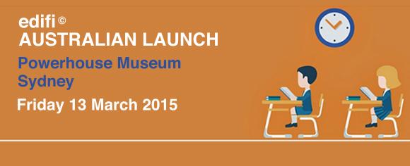 edifi Australian Launch banner