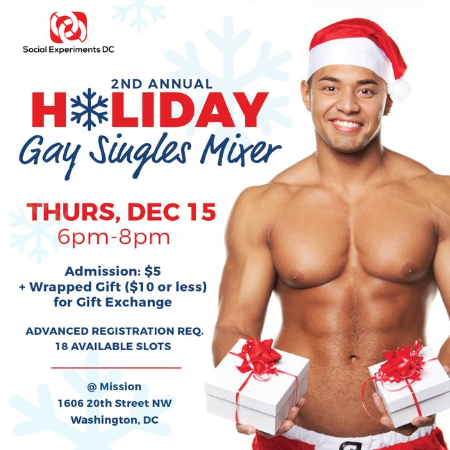 DC 2nd Annual Holiday Gay Singles Mixer