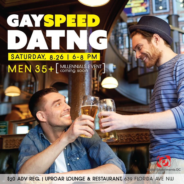 speed dating dc gay