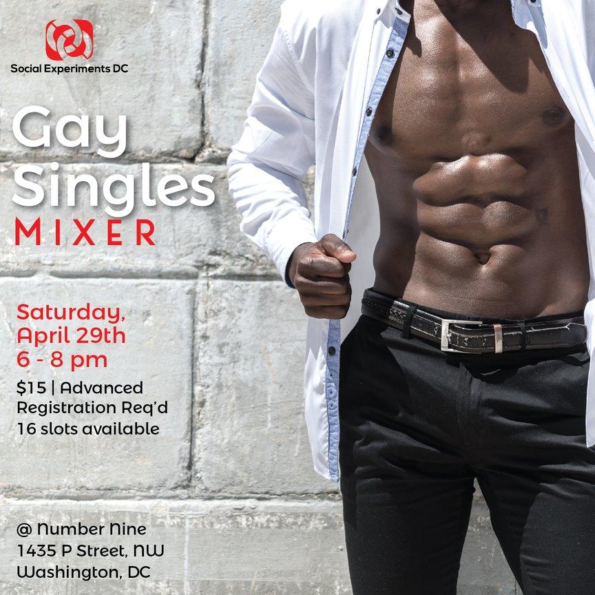 Gay Singles Mixer- DC April 29, 2017