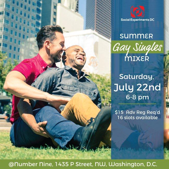 Gay Singles Mixer: The Summer Edition (DC)