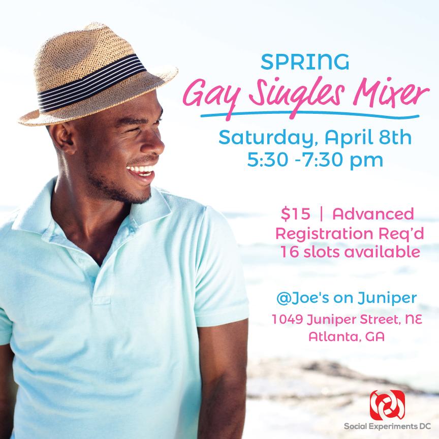 Spring Gay Singles Mixer- Atlanta