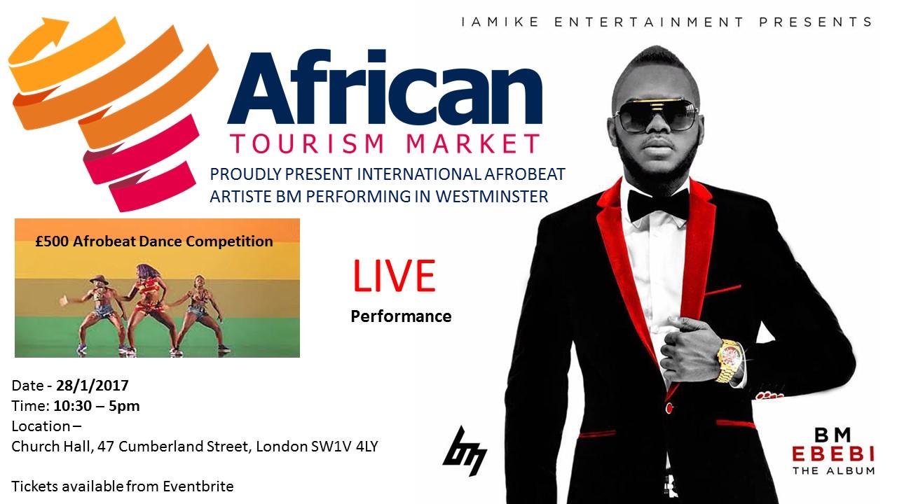 Afrobeat International Superstar BM