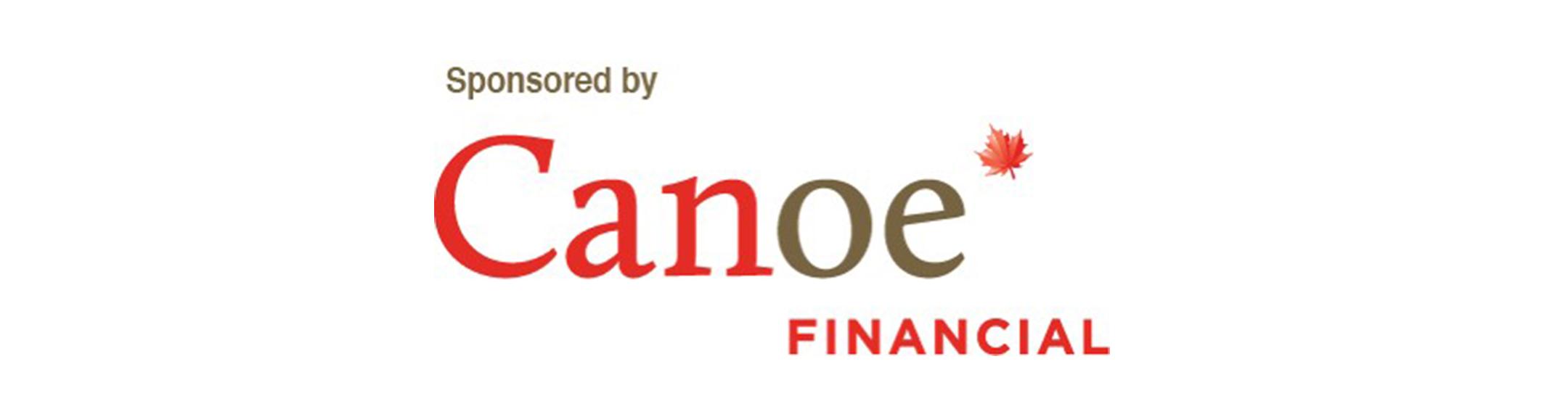 Title Sponsor, Canoe Financial Logo