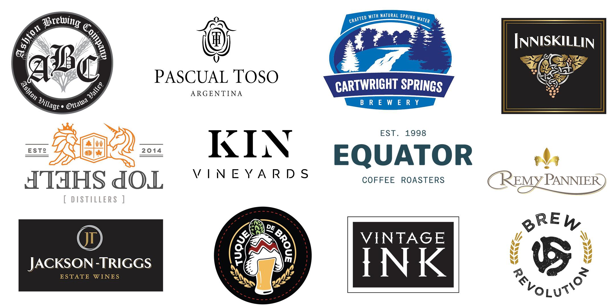 beverage logos