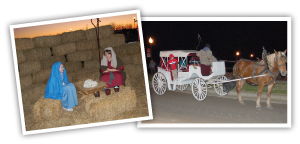 Live Nativity & Carriage Rides