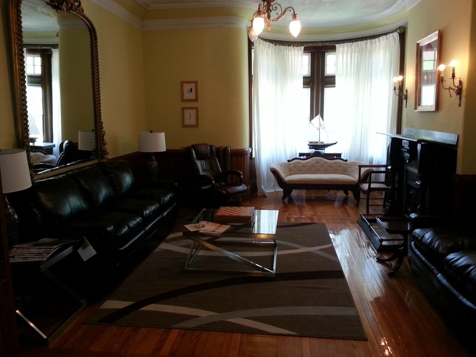 vibe business incubator lounge area