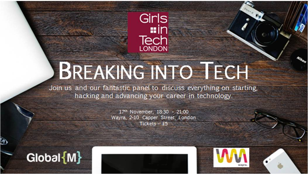 Invite to Breaking into Tech