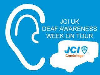 Deaf awareness week on tour