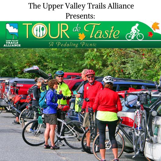 Upper Valley Trails Alliance, Tour de Taste: A pedaling picnic