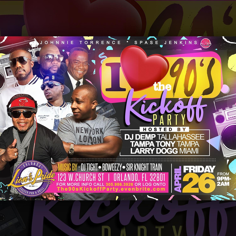 Orlando Funkfest Weekend Kickoff Party