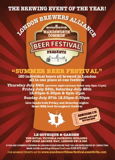 WCBF LBA Summer Beer Festival 2014
