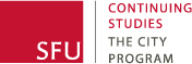 SFU City Program logo