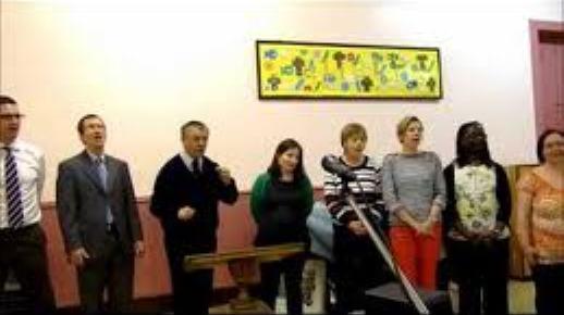 Members of the Edinburgh International Christian Church