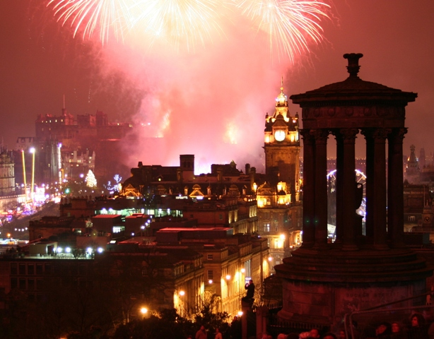 Edinburgh New Year 2015