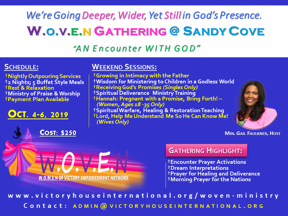 W O V E N ~ Women of Victory Empowerment Network @ Beautiful Sandy
