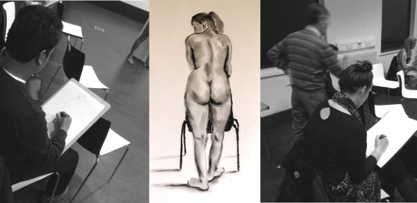 Life Drawing Evening Course Winter 2015