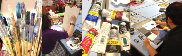 Painting Evening Course Winter 2015