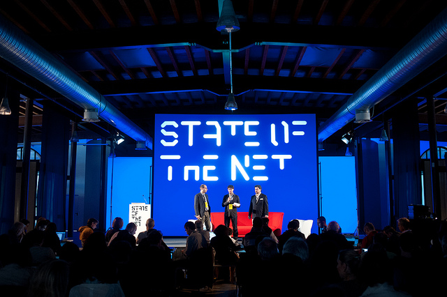 State of the Net at Molo IV in Trieste