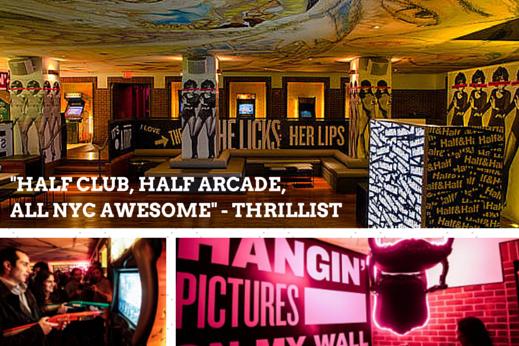 Half and Half at the Hudson Hotel
