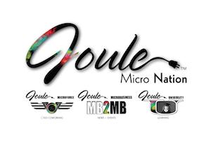 Joule Micro Nation Cyber Coworking MB2MB Joule U logos
