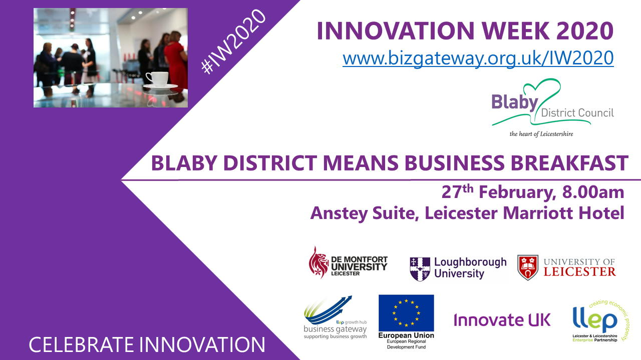 Blaby Innovation Week Breakfast