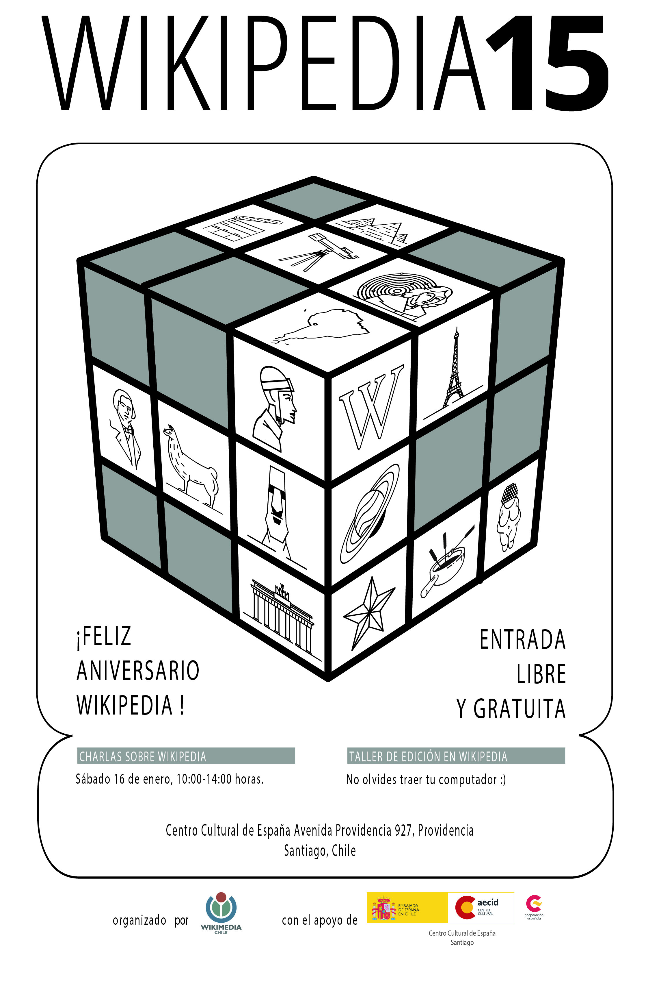 Wikipedia 15 Santiago