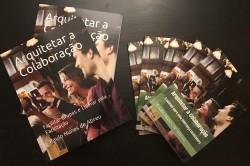 Capas dos livros da série Arquitetar a colaboração