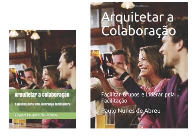 Capas dos livros da série Arquitetar a Colaboraçao