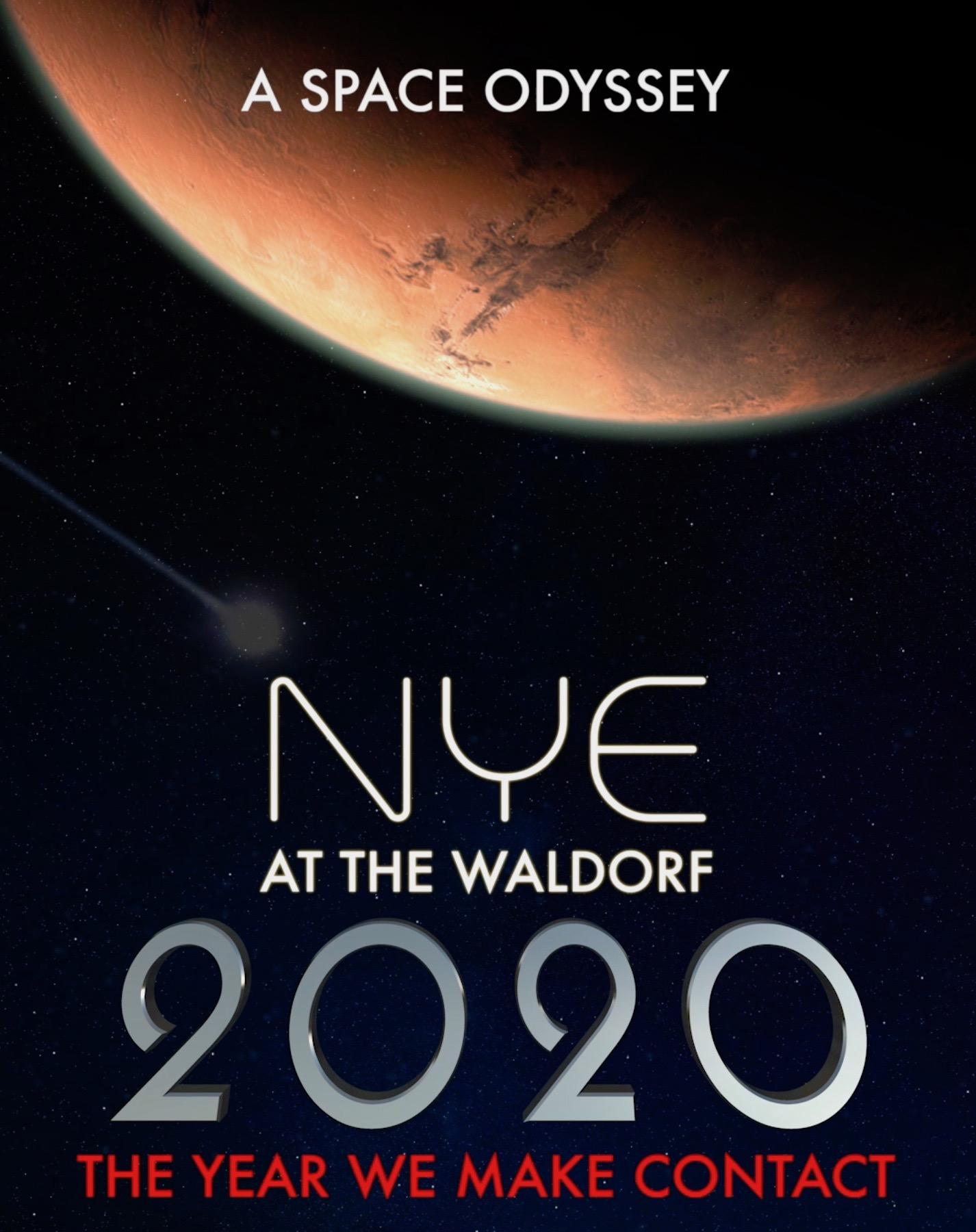 NYE 2020 at The Waldorf