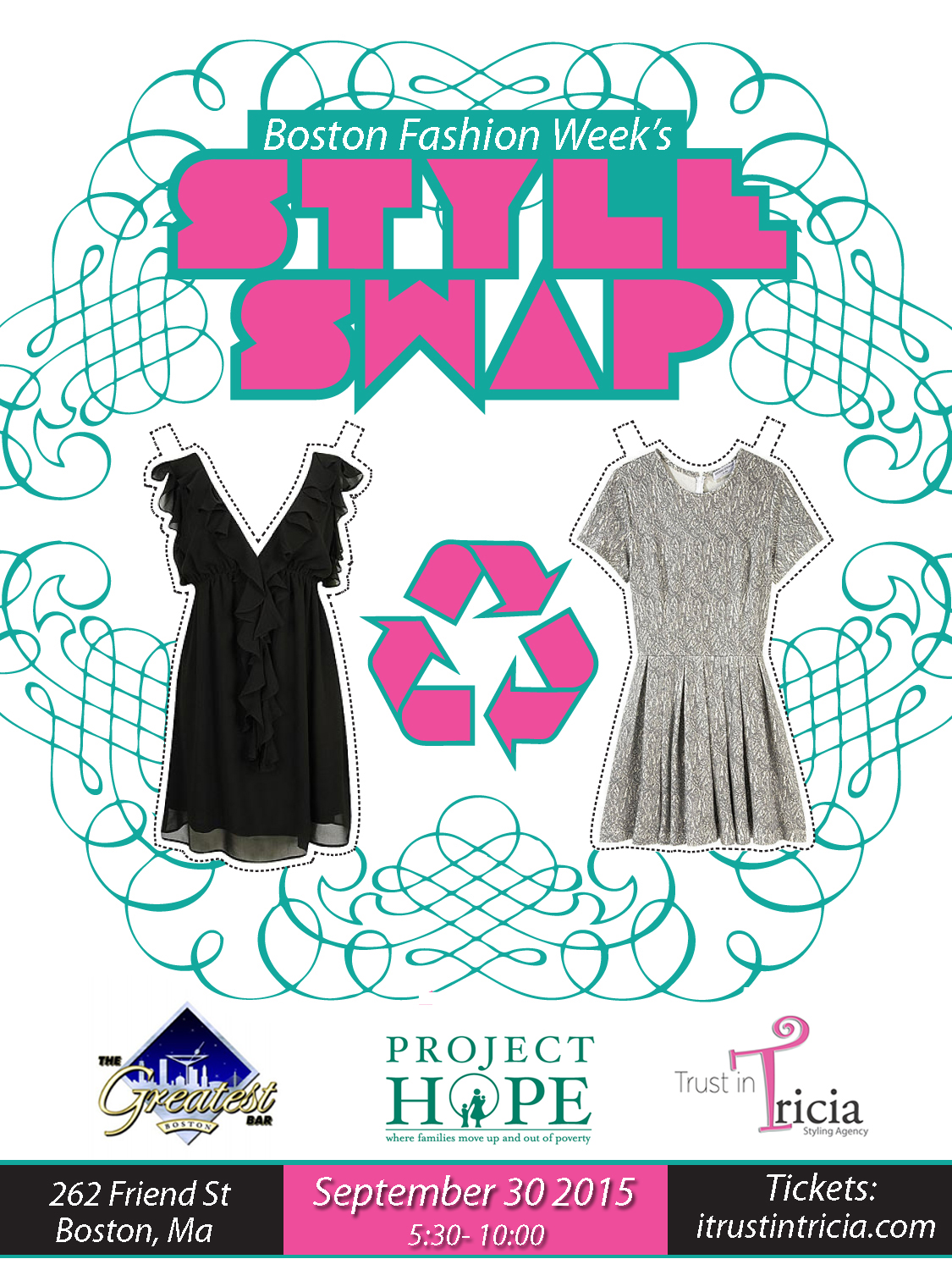 Boston Fashion Week Style Swap Tickets Wed Sep 30 2015