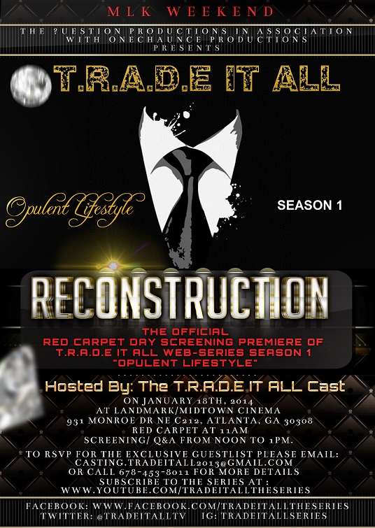 RECONSTRUCTION RED CARPET PREMIERE FLYER