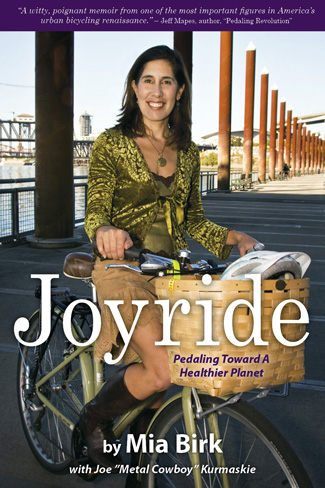 Cover: Joyride: Pedaling Toward a Healthier Planet by Mia Birk