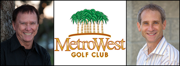 Allan and Bruce speak at MetroWest Golf for ABC