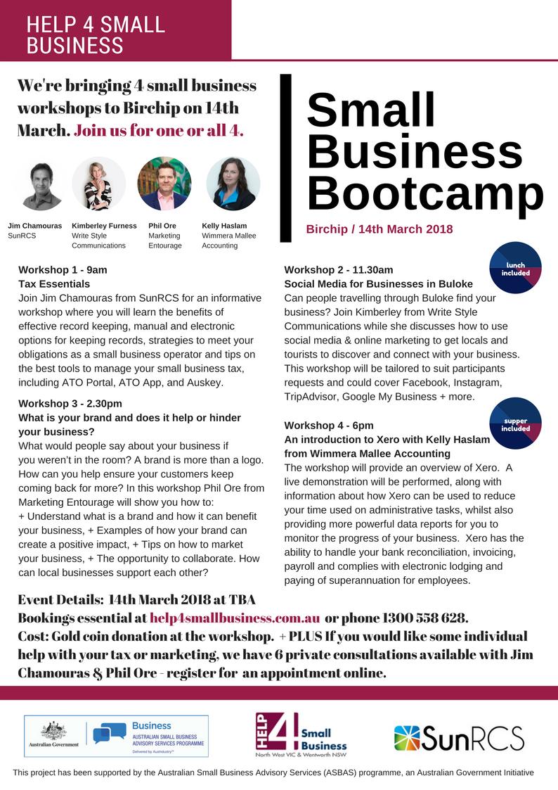 Birchip Bootcamp